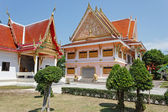 Black monk temple in the south of Thailand — Stock Photo