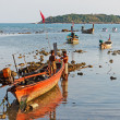 National fishing boats — Stockfoto