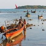 National fishing boats — Foto Stock
