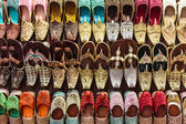 Shoes in east souk — Stock Photo