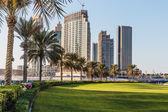 Modern buildings in Dubai. — Stock Photo