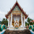 Buddhist temple in the south of Thailand — Stock Photo