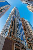 Modern buildings in Dubai UAE — Zdjęcie stockowe