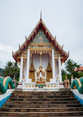 Buddhist temple in the south of Thailand — Stockfoto