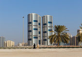 A general view of Sharjah UAE — Stockfoto
