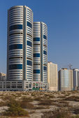 A general view of Sharjah UAE — Stock Photo