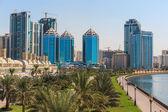 Ciudad de sharjah, emiratos árabes unidos — Foto de Stock