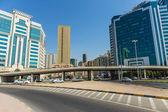 Moderne gebouwen in sharjah — Stockfoto