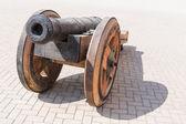 Vieux canon en fonte — Photo