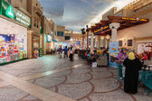 Interior IBN Battuta Mall store. Each hall is decorated in the s — Stock Photo