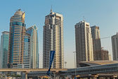 Modern buildings in Dubai — Zdjęcie stockowe