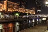 Night view of Sharjah — Stock Photo