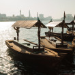 Traditional Abra ferries at the creek in Dubai — Stock Photo #47324533