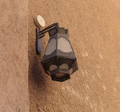 Traditional Arabic streetlight — Stock Photo