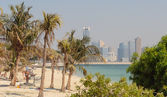 Jumeirah Beach Park in Dubai — Stock Photo