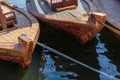 在迪拜的传统阿布渡轮 — 图库照片