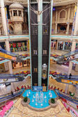 Interior Central Souq Mega Mall in Sharjah UAE — Stock Photo