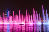 Musical fountain show in Sharjah — Stock Photo