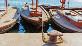 Traghetti tradizionali abra in dubai — Foto Stock