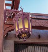 Old lantern on the wall. Sharjah UAE — 图库照片