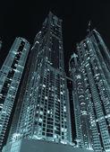 View of Dubai at night — Stock Photo
