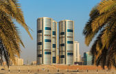 General view of Sharjah UAE — Stock Photo
