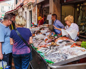Fish Market in Venice — Stock Photo