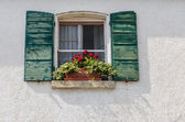 Window in old house — Stock Photo