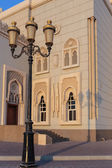 Mosque  in Sharjah, United Arab Emirates — Zdjęcie stockowe