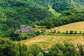 Old typical Tuscan farmhouse — Stock Photo