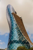 Capital Gate Tower in Abu Dhabi — Stock Photo