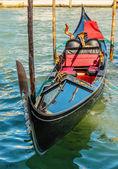 Gondola on canals of Venice — Stock Photo