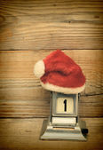 Cap of Santa Claus — Stock Photo