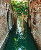 Kanal in venedig-italien — Stockfoto