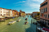 Grand Canal in Venice Italy — Stock Photo