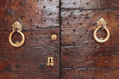 Rusty doorknobs — Stock Photo