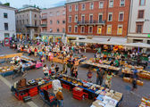 Flea market in Rimini — Stock Photo