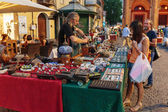 Flea market in Rimini — ストック写真