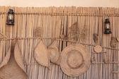 Ancient Islamic School exhibits — Stock Photo