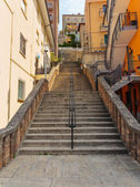 Street in city center of San Marino — Stock Photo