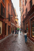 Downtown streets Bologna — Foto de Stock