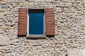 Window in   old house — Stockfoto