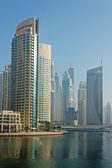 Buildings in Dubai Marina — Foto de Stock