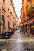 Downtown streets Bologna — Stock Photo