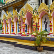 Buddhist temple in the south of Thailand — Stock Photo #50468859