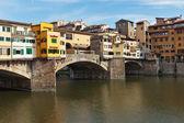 Ponte Vecchio in Florence , Italy — Stock Photo