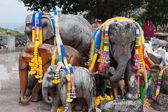 Siffror av elefanter, phuket — Stockfoto