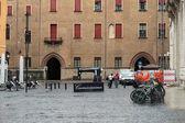 Square in  Bologna, Italy — Stock Photo