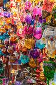 Glass lanterns — Stock Photo