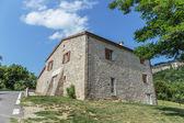 Tuscan çiftlik evi — Stok fotoğraf
